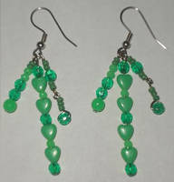 Green Earrings 2 by Rad1986