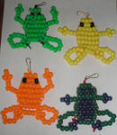 Colorful Frogs by Rad1986