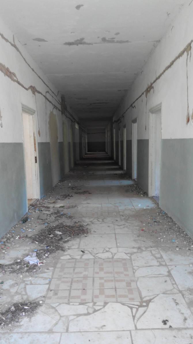 abandoned hospital...