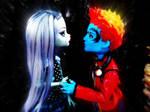 Holt And Frankie-Monster High