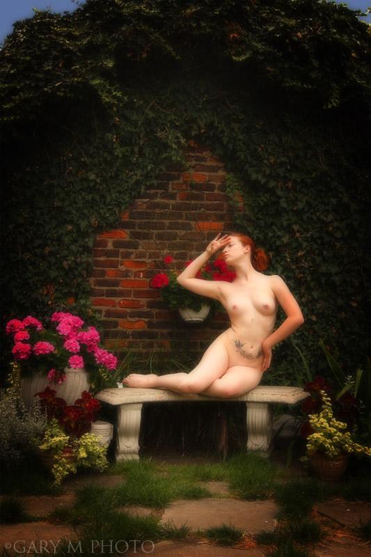In The Gallery Garden by GaryMphoto