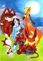 Pokemon meets Final Fantasy 8: by SoraNoRyu