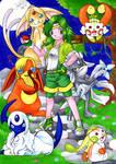 Pokemon meets Final Fantasy 4