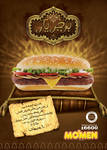 mo'men burger: burgeryar ad