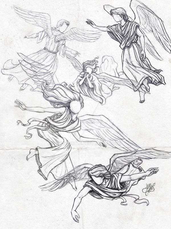 Angel Sketches by Justturtle