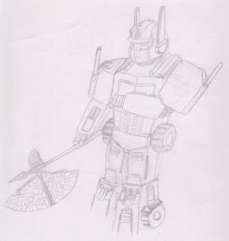 Optimus Prime (Incompleto / Incomplete) by JohnDrawer