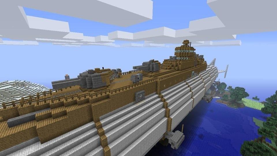Minecraft Airship by PilotDelta on DeviantArt