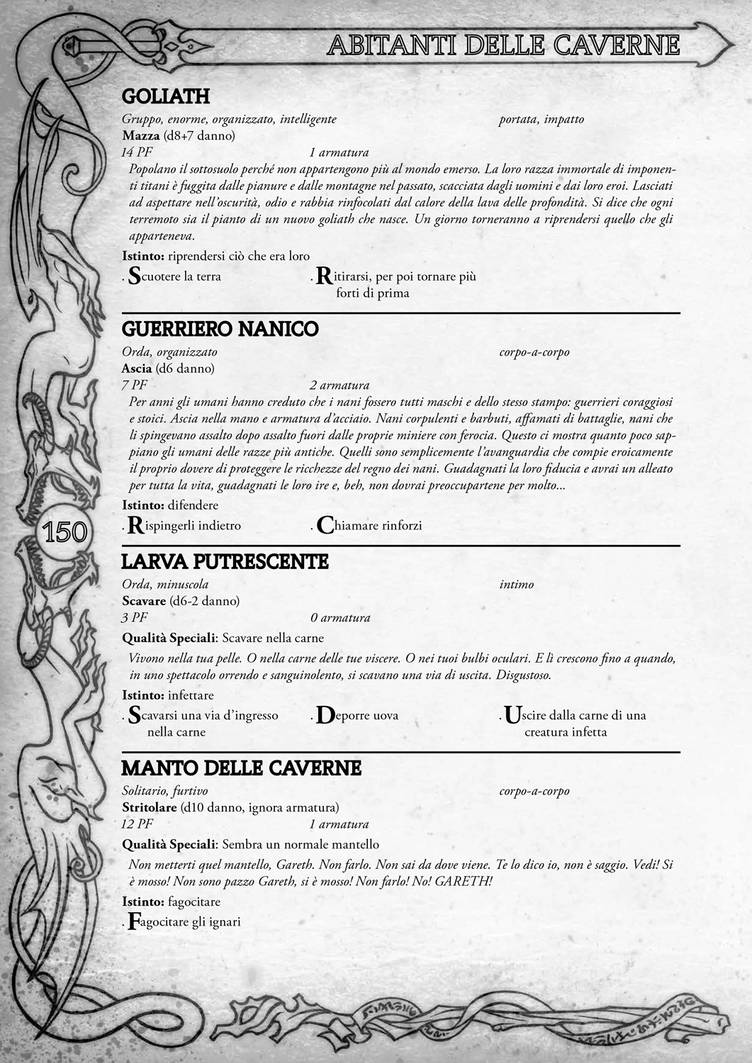 Dungeon World (Italian Edition) - Book Design 7 by bosipaolo