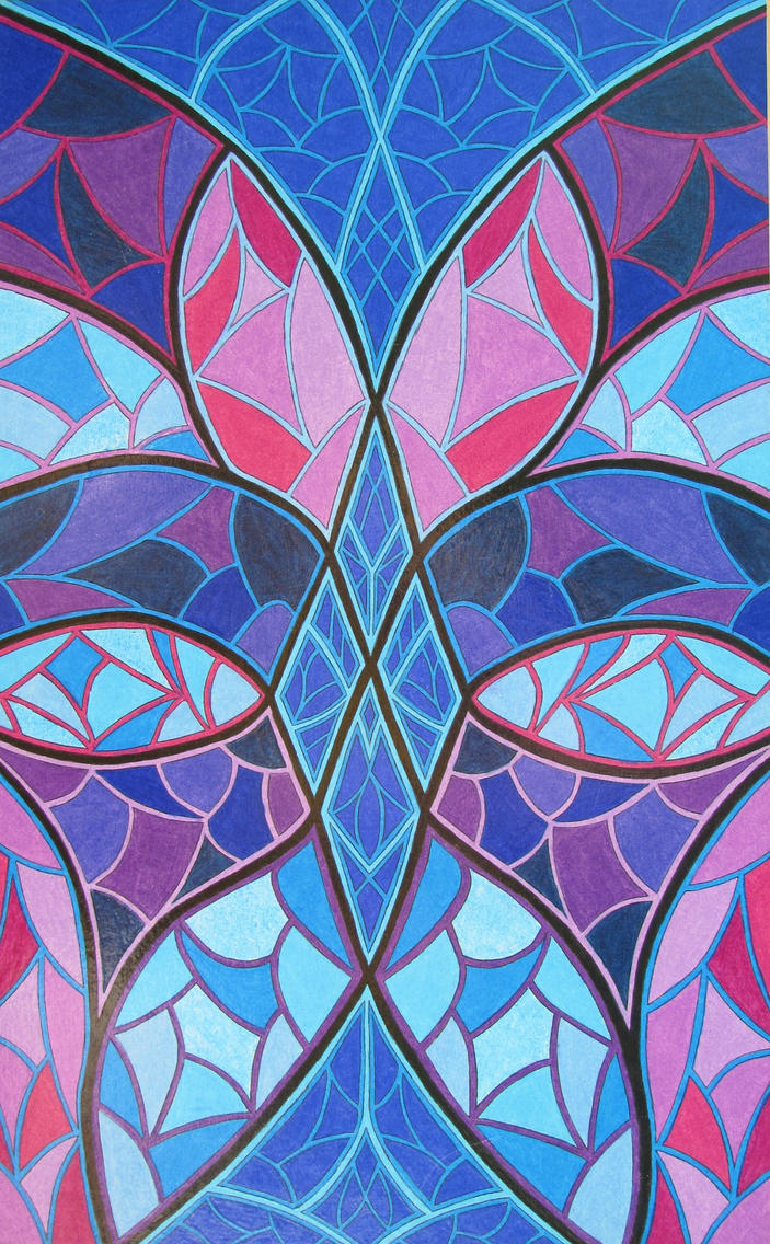 Stained Glass 4 by KyleWilcoxVisualArt