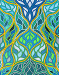 Stained Glass 18 by KyleWilcoxVisualArt