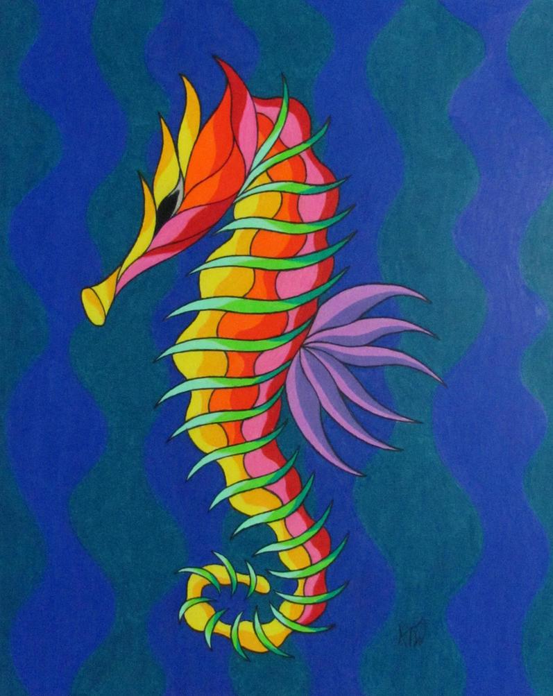 Seahorse #2 by KyleWilcoxVisualArt