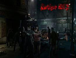 Resident Evil 2 Poster by xRedhawkAcex