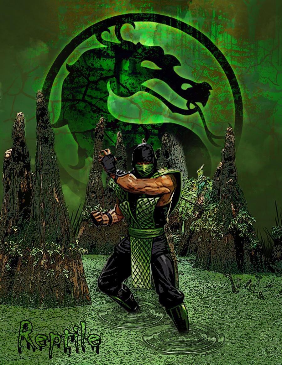 Reptile mortal kombat costume - photo#21
