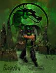 Reptile Classic Mortal Kombat by xRedhawkAcex