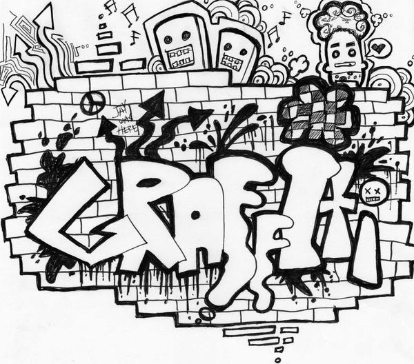 Cool Graffiti Pages Of Money Coloring Pages