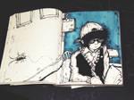 Stuck in my doodle book