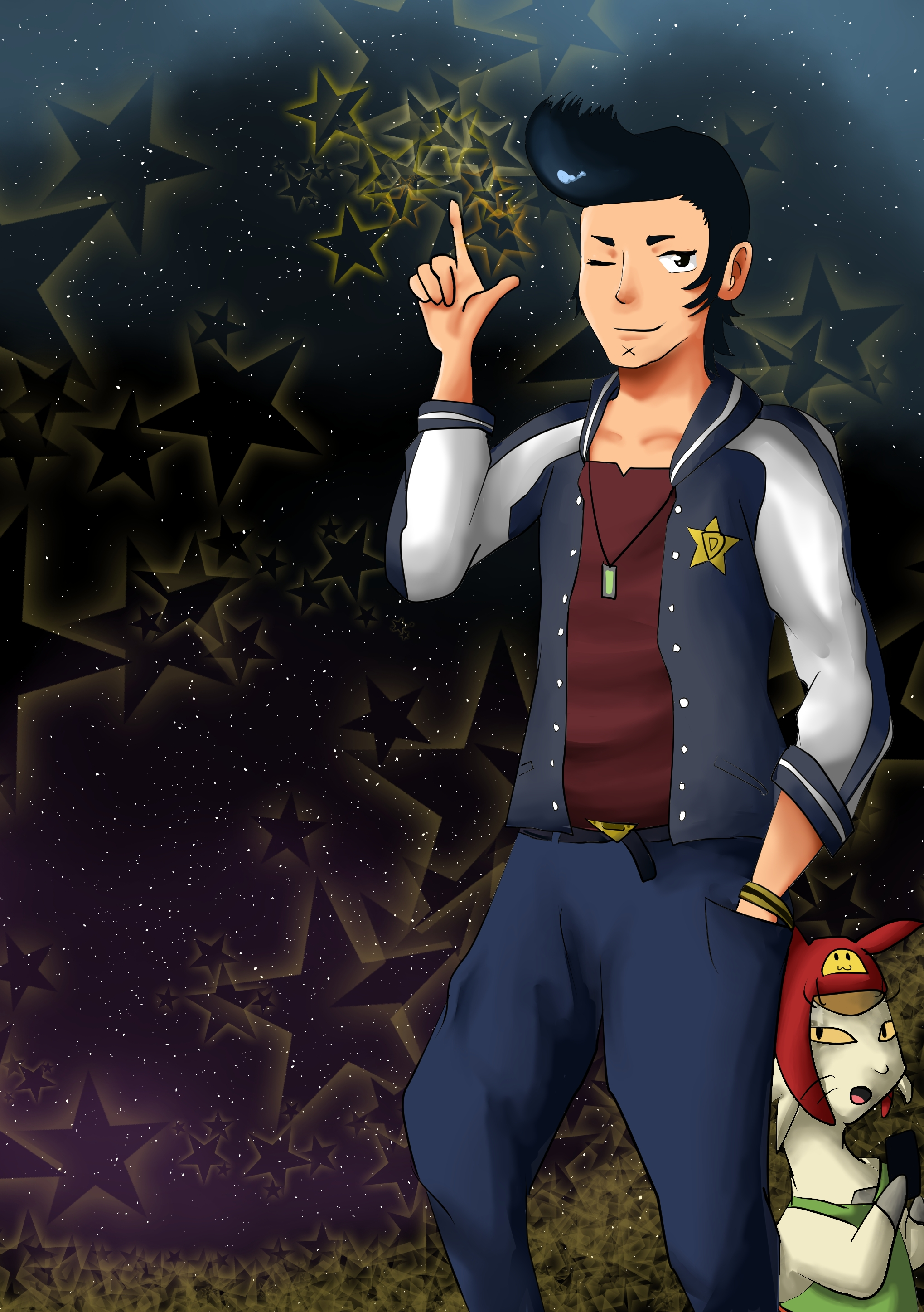 Space Dandy by Tambergal