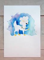 Watercolor Chio by porkuspine