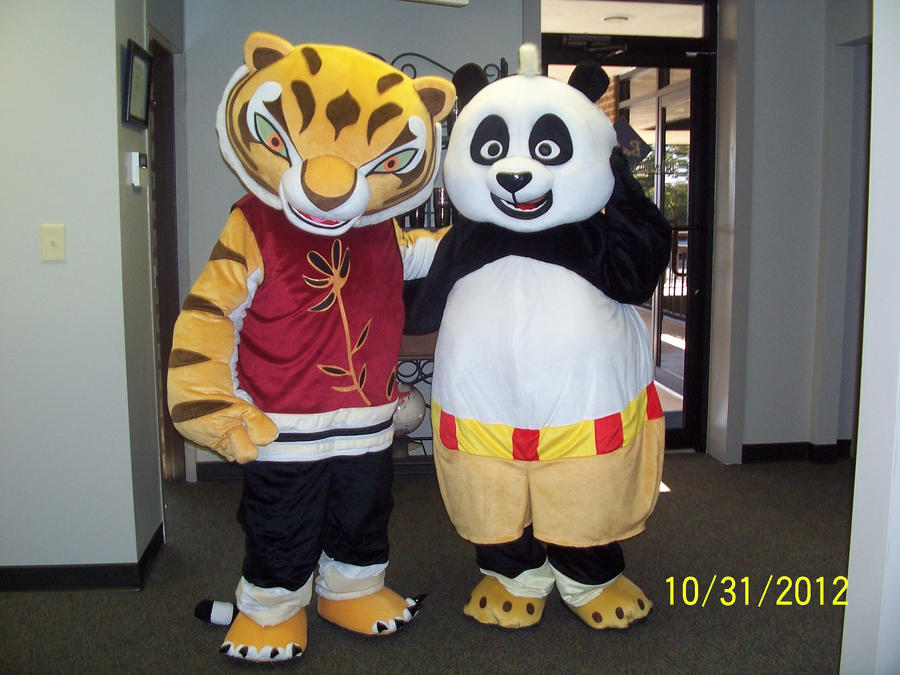 Master Tigress and Kung Fu Panda Costumes by MrEd301 ... & Master Tigress and Kung Fu Panda Costumes by MrEd301 on DeviantArt