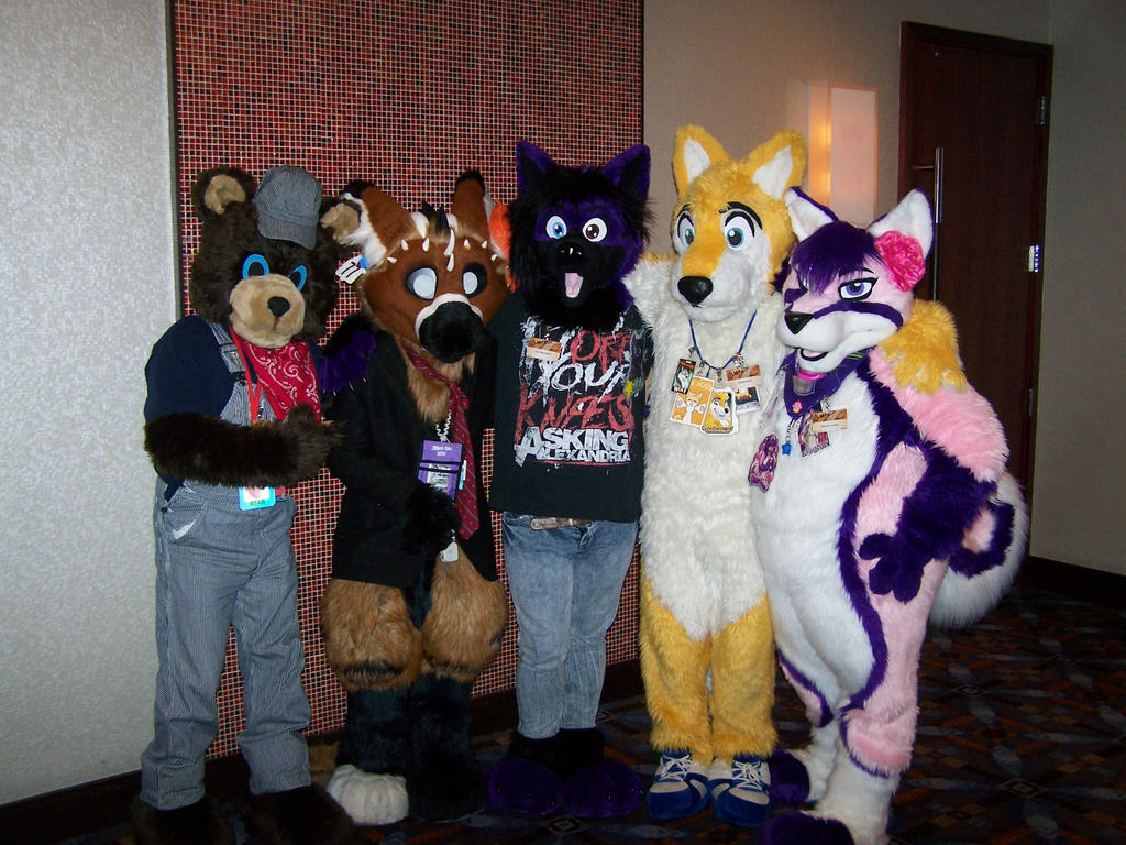 Awesome fursuiters by MrEd301