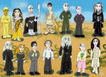 more stargate :SG SGA: chibies by sonjaB