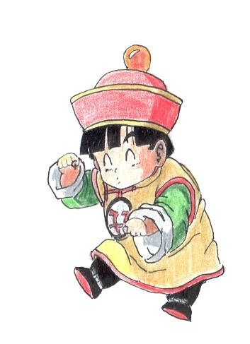 Dragon Ball Z - Kid Gohan TWP by DBCProject on DeviantArt