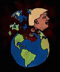 Trump breaking the World