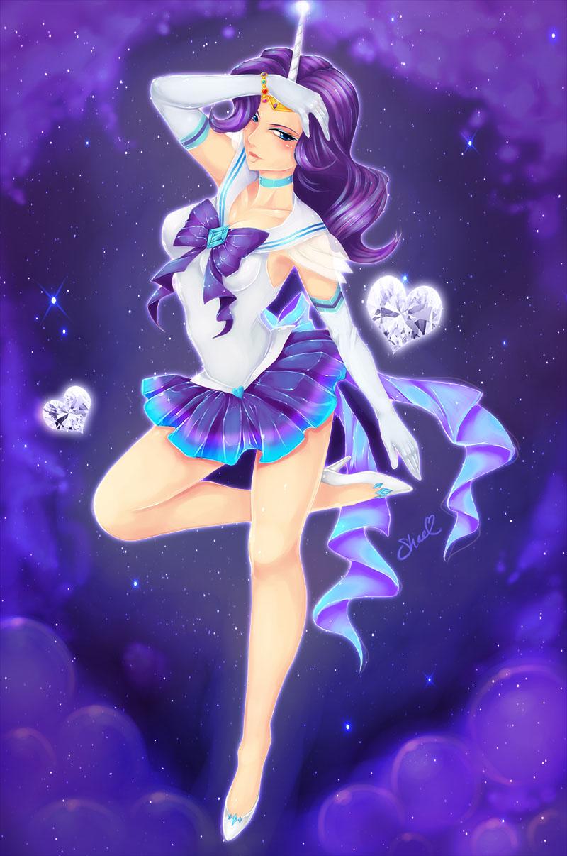 Sailor Rarity by ShadedAstral on DeviantArt