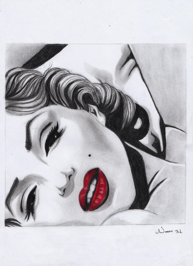 Marilyn Monroe by NoorAl-h