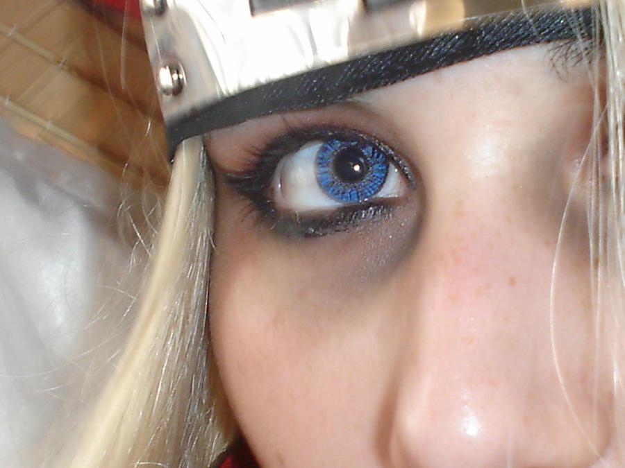 Deidara blue eyes by Shiradeimune