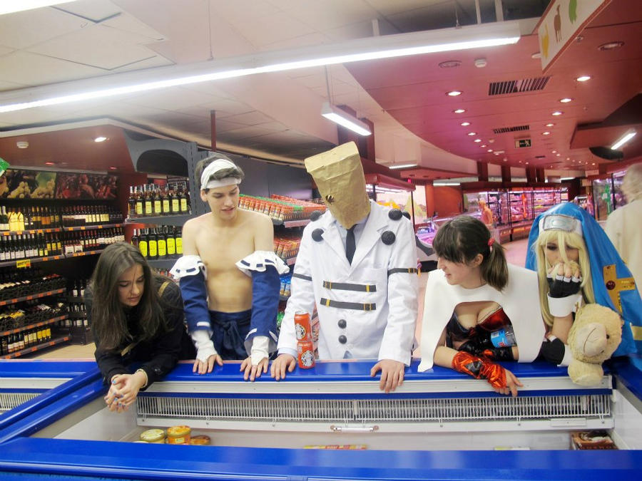 Guilty Gears go to shop ice-cream! by Shiradeimune