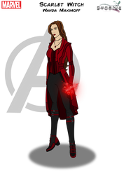 Scarlet Witch by Kyle-A-McDonald
