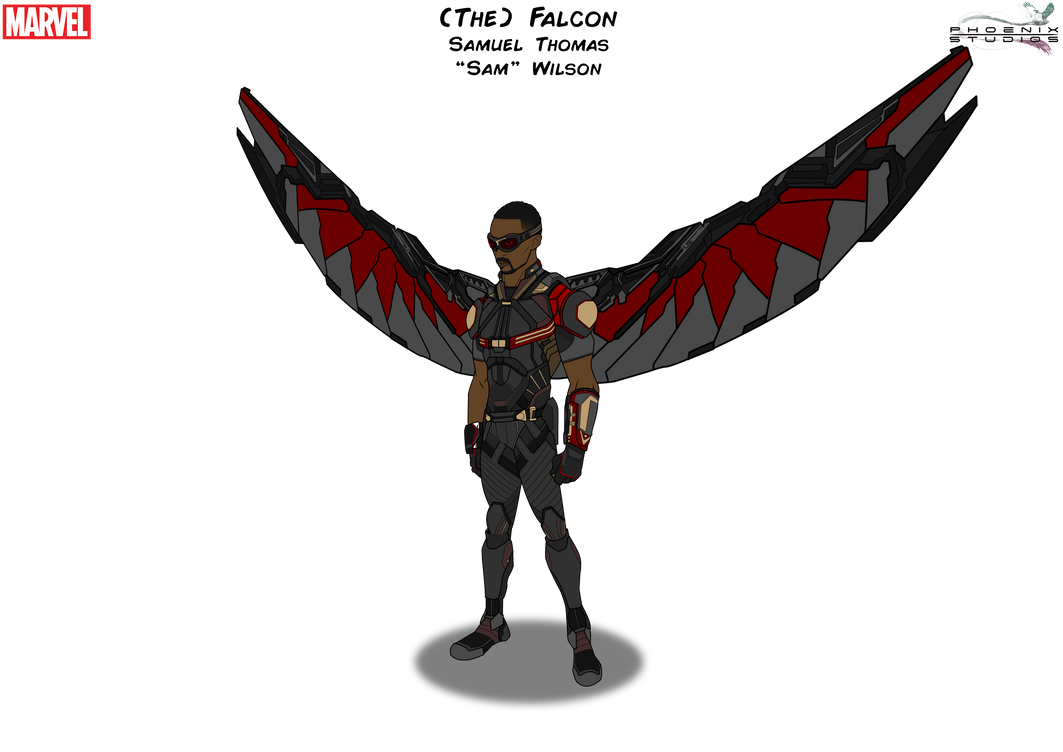 (The) Falcon [With Wings] By PhoenixStudios91 On DeviantArt