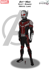 Ant-Man by Kyle-A-McDonald
