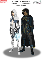 Cloak and Dagger by Kyle-A-McDonald
