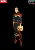 Captain Marvel by Kyle-A-McDonald