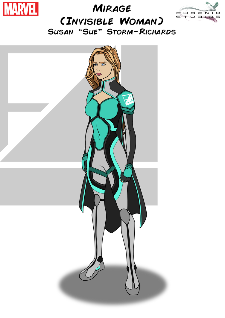 Mirage (Invisible Woman) by Kyle-A-McDonald ...  sc 1 st  DeviantArt & Mirage (Invisible Woman) by Kyle-A-McDonald on DeviantArt