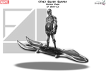 Silver Surfer (with Board)