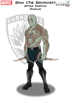 Drax (The Destroyer) by Kyle-A-McDonald
