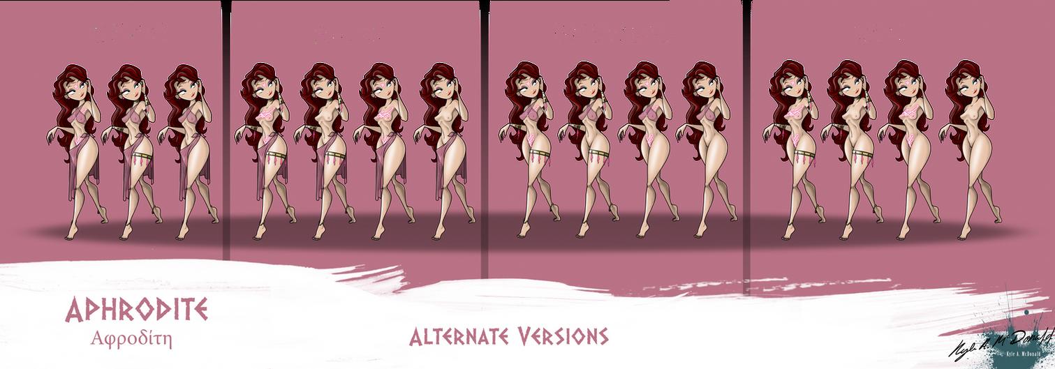 Aphrodite (Alternates) by Kyle-A-McDonald