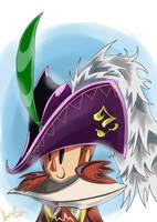 Owlboy with Savant's Hat by SuperManosBros