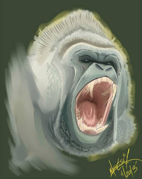 ''Gorilla Scream''