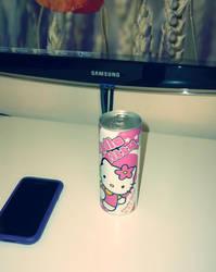 Hello Kitty energy drink
