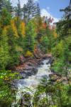 Downstream from Ragged Falls