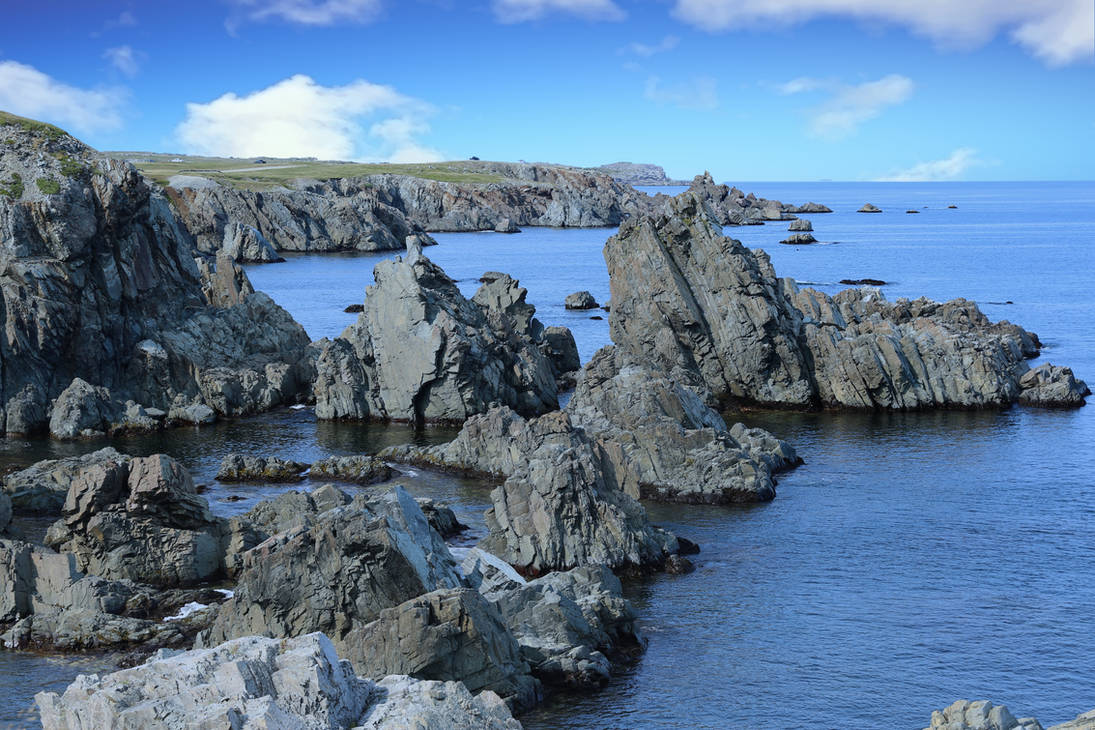 The Beautiful Coastline of Newfoundland by images-by-bap-studio