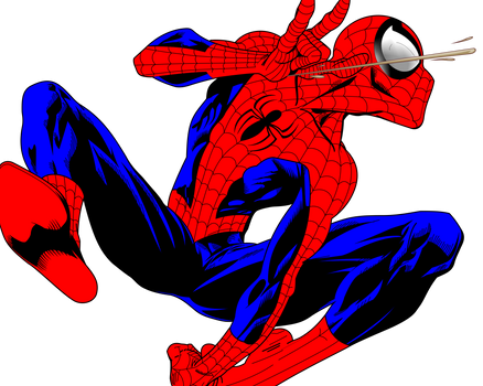 Spider-Man Vectorization by LeandroArtsXDesigns