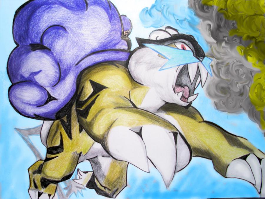 Raikou Art Raikou fan-art by electric-Raikou Pixel Art