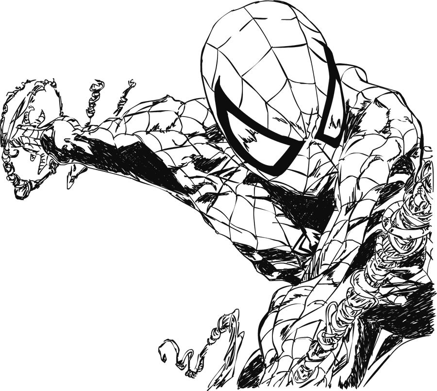 spiderman by electric