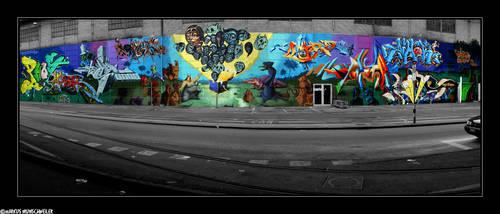 city graffiti by sicknonsens