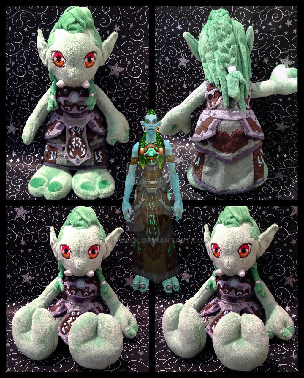 Troll Druid Plush by X-Lydeck